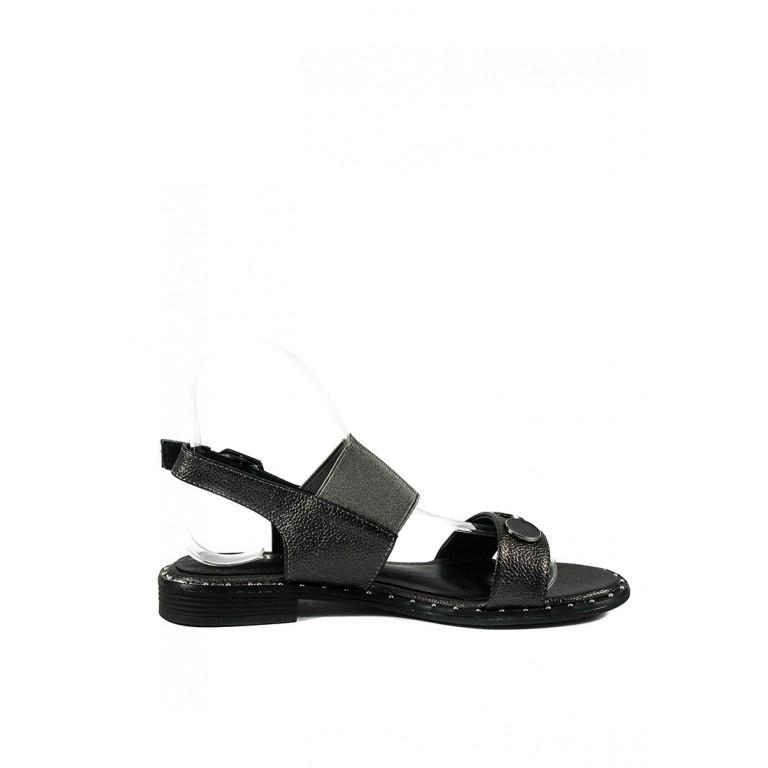 Сандалии женские Sopra СФ W18-6607 темно-серые