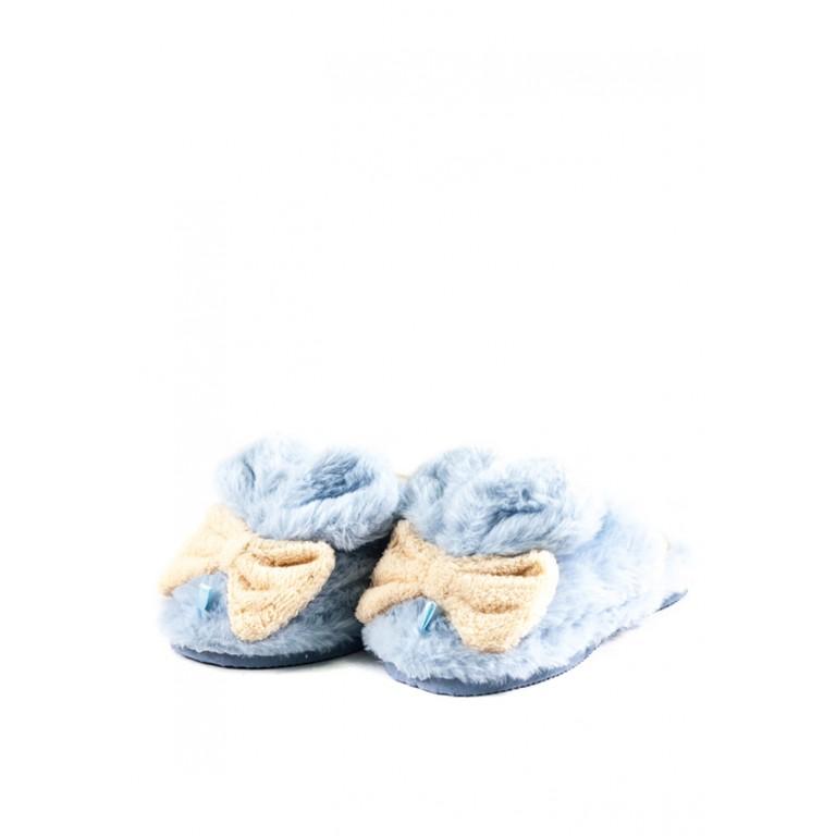 Тапочки комнатные детские Home Story 91259-EC голубые