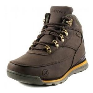 Ботинки зимние женские Restime KWZ19530 коричневые