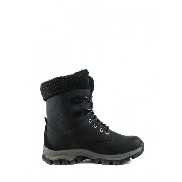Ботинки зимние женские Restime KWZ19408 черные