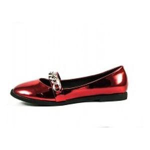 Балетки женские Elmira 606-1 красные