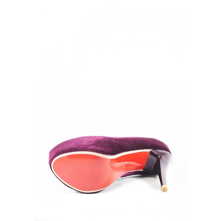 Туфли женские Elmira N7-601T фиолетовый
