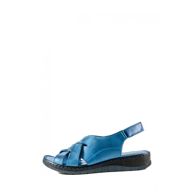 Босоножки женские летние Anna Lucci СФ 2090 синие