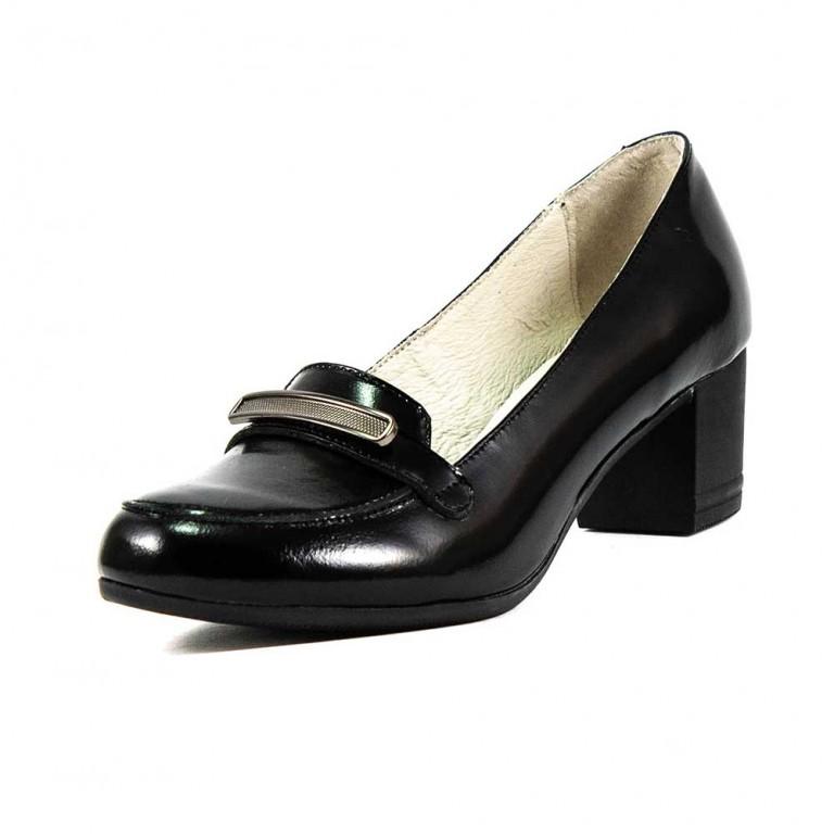 Туфли женские MIDA 21713-134 черный лак