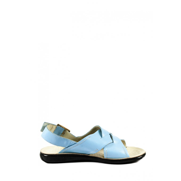 Босоножки женские TiBet 202-02-01 голубые
