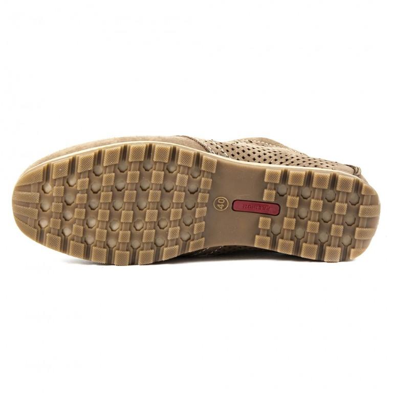Туфли мужские Maxus ШН пр светло-коричневый нубук