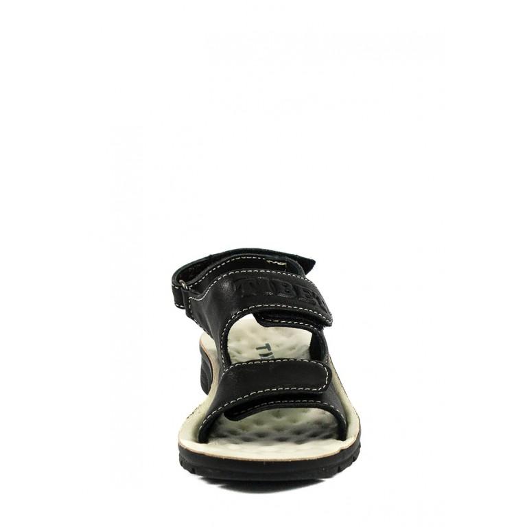 Сандали подростковые TiBet 005-02-01 черные