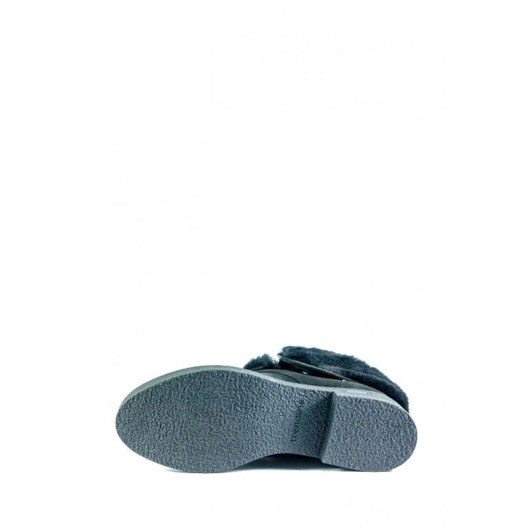 Ботинки зимние женские MIDA 24594-9Ш черные