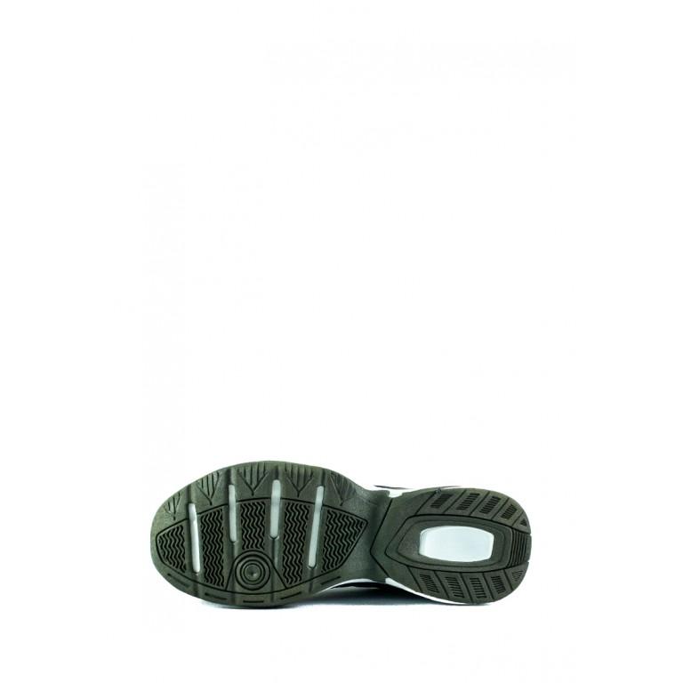 Кроссовки мужские Demax А3326-4 темно-зеленые