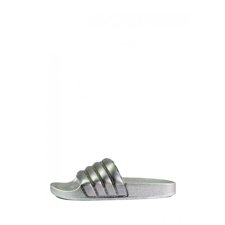 Шлепанцы женские Sopra СФ WS-06 серебряные