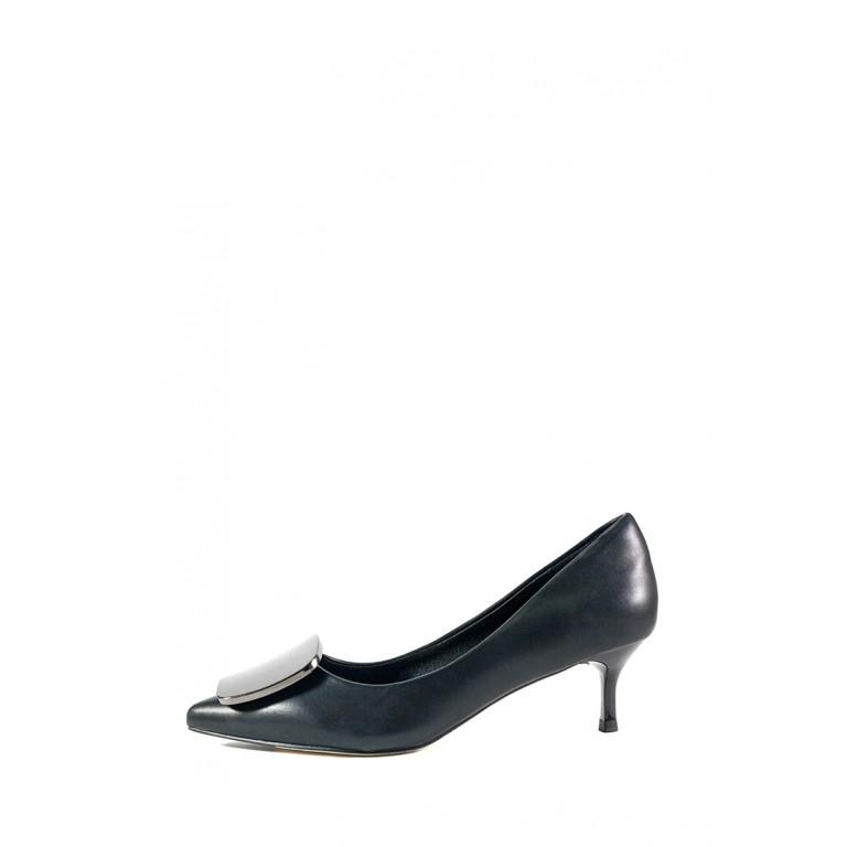 Туфли женские Fabio Monelli D563-1G черная кожа