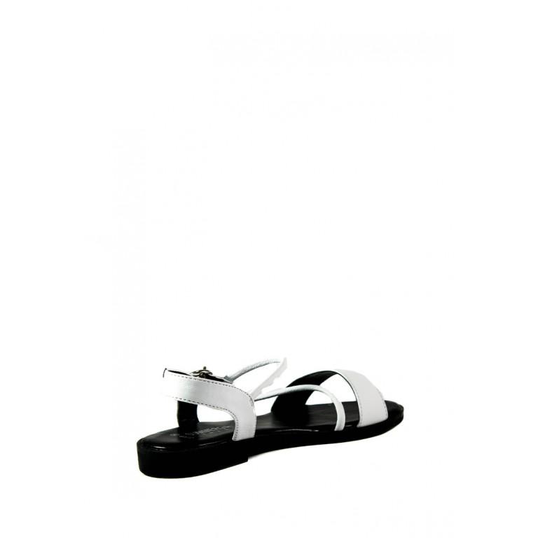 Босоножки женские летние SUMMERGIRL D330B черно-белые