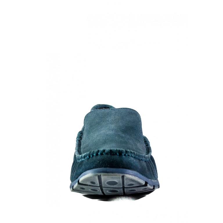 Мокасины мужские MIDA 110882-490 синие