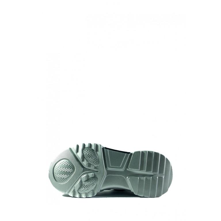 Кроссовки демисезон женские Lonza ZZ906-6 серебряные