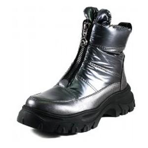 Ботинки зимние женские Prima D'arte 1616-L502-2 серые