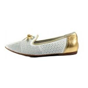 [:ru]Туфли женские MIDA 23783-317 бело-золотые[:uk]Туфлі жіночі MIDA білий 16234[:]