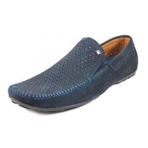 Мокасини чоловічі Alexandro синій 09636