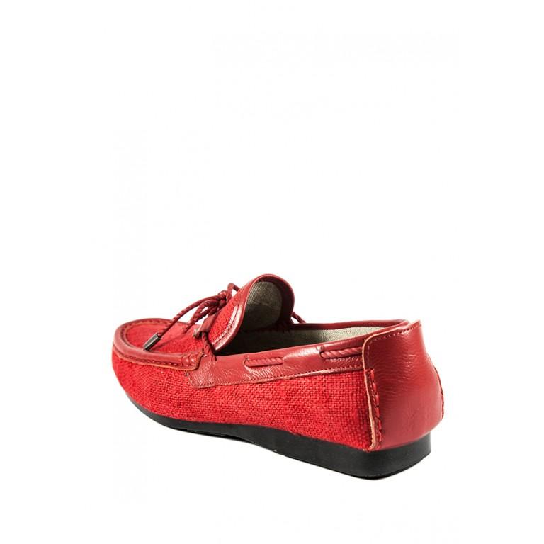 Мокасины мужские TiBet 523-06 красные