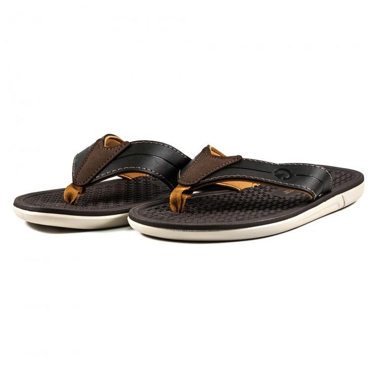 Шлепанцы мужские Cartago 11361-20762 темно-коричневые