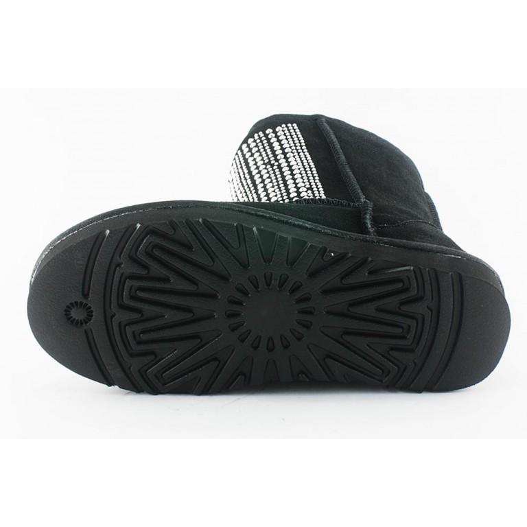 Угги женские Sopra 5825-510 черная замша