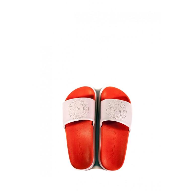 Шлепанцы женские Rider 82801-20697 красно-розовые