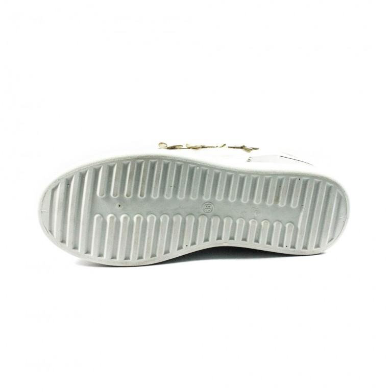 Кроссовки женские Sopra BK02 серебро