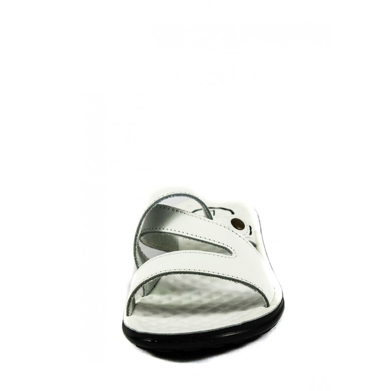 Шлепанцы женские TiBet 234-03-08 белые