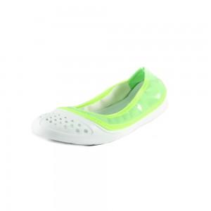 Балетки женские Jose Amorales 116404 бело-зеленые