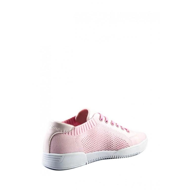 Кеды женские Restime SWL20835 розовые