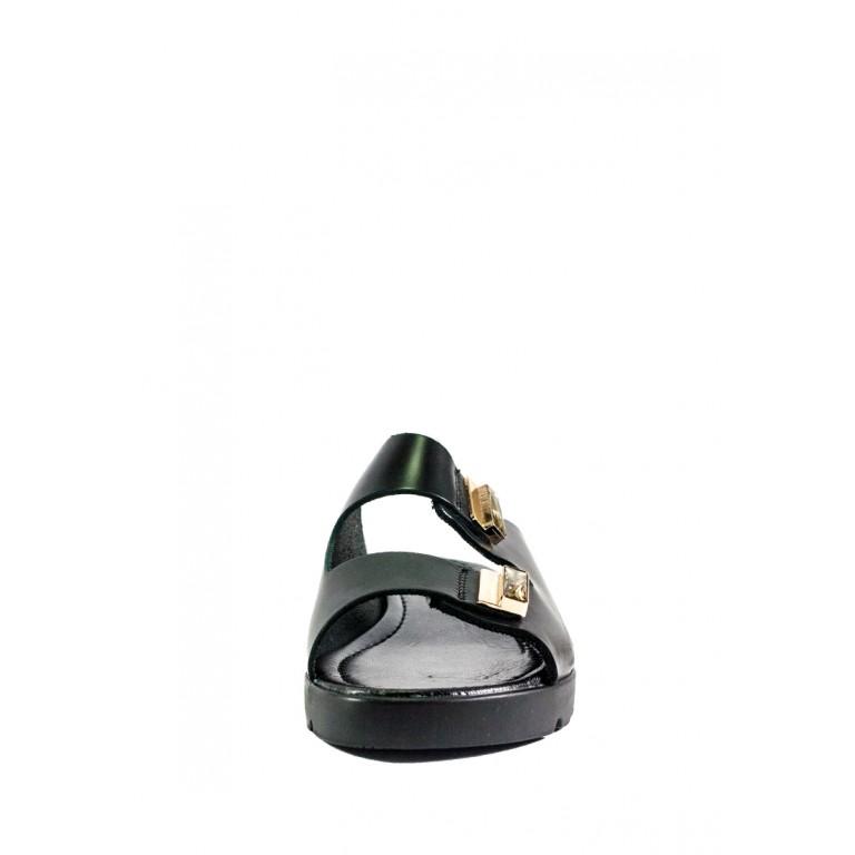 Шлепанцы женские MIDA 23832-537 черная кожа