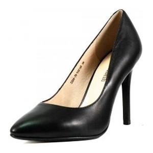 Туфли женские Fabio Monelli S334-70-Y021AK черная кожа