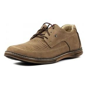 Туфли мужские Maxus Ролс пр светло-коричневый нубук