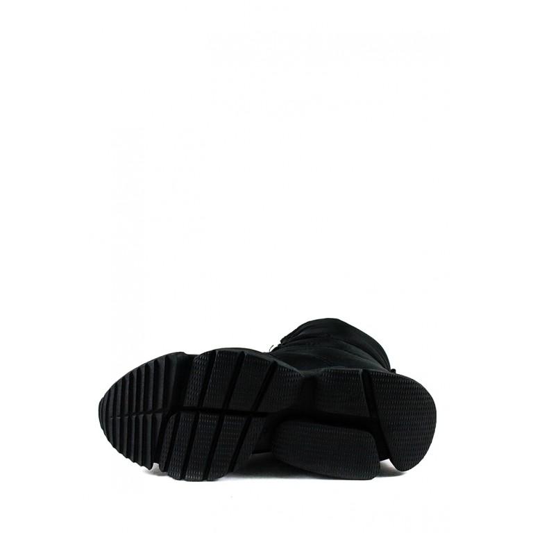 Ботинки зимние женские Prima D'arte 1552-F660-8 черные