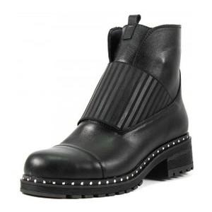 [:ru]Ботинки демисезон женские CRISMA CR2904 черная кожа[:uk]Черевики демісезон жіночі CRISMA чорний 15837[:]