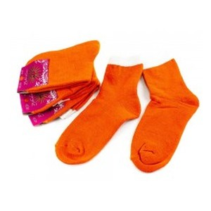 Носки женские Рубеж-Текс 100 оранжевые 36-39