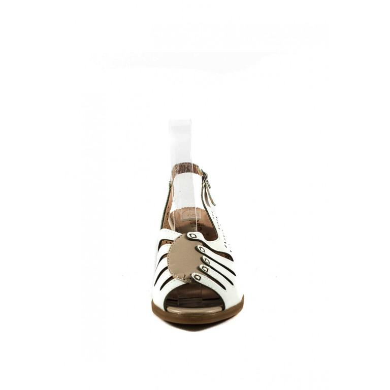 Босоножки женские Sopra СФ L067-221A белые