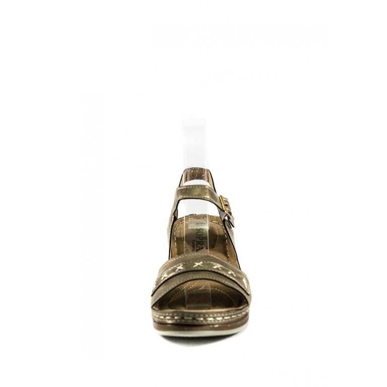 Босоножки женские Sopra СФ M12502 серые