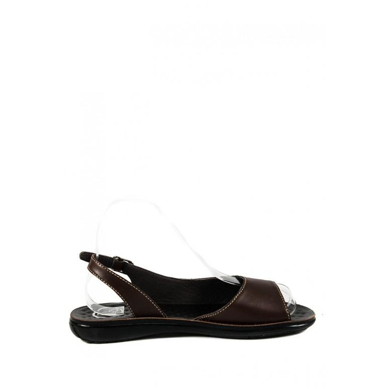 Сандалии женские TiBet 278-02-05 коричневые