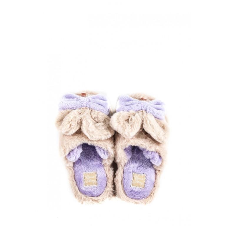 Тапочки комнатные детские Home Story 91259-EC бежевые