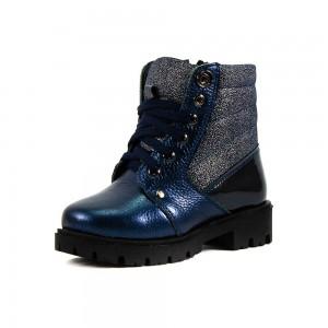 Ботинки зимние детские Alexandro AO19203 синяя кожа