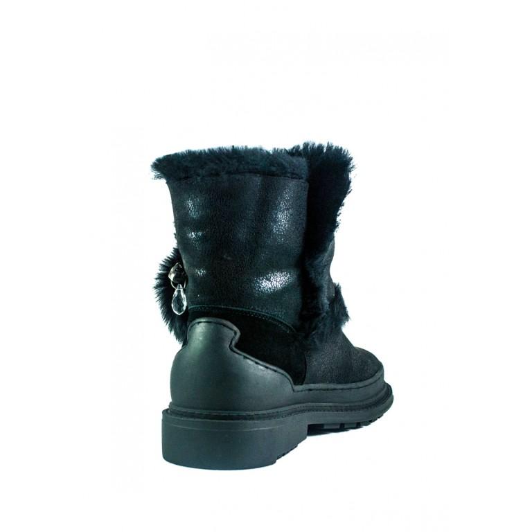 Ботинки зимние женские Allshoes СФ 605-PX382M-65-3 черные