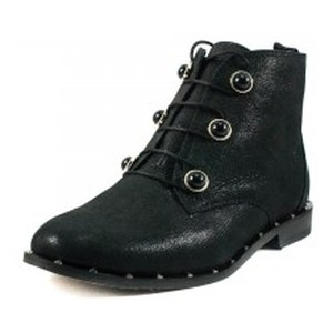 Ботинки демисезон женские Foletti FL230 черная кожа