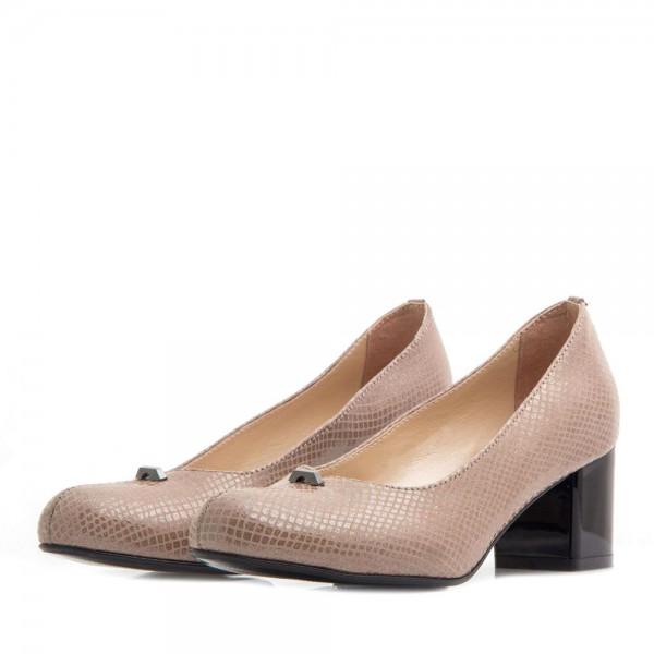 Туфли женские Tomfrie MS 21336 бежевый