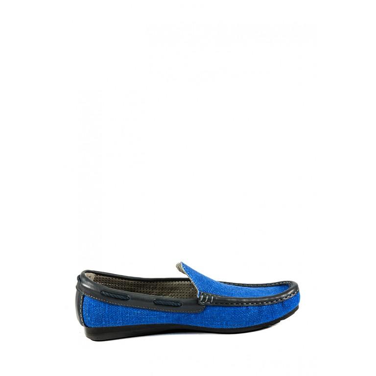Мокасины мужские TiBet 520-06-18 синие