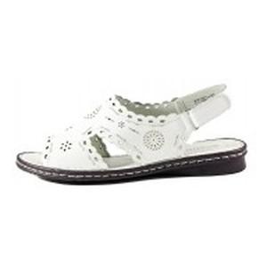 [:ru]Босоножки женские Allshoes 77937-10 белый[:uk]Босоніжки жіночі літні Allshoes білий 11865[:]