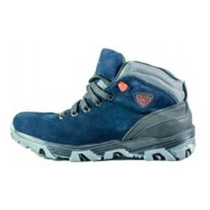 Ботинки зимние мужские MIDA 14171-12Ш тёмно-синие