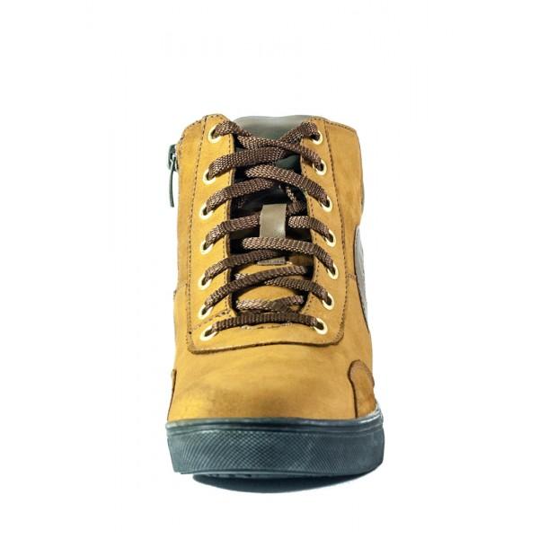 Ботинки зимние женские MIDA 24558-379Ш коричневые