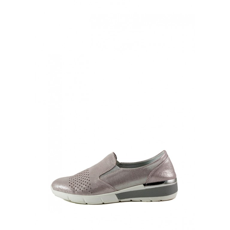 Мокасины женские Allshoes 206-11XM-06 светло-розовый