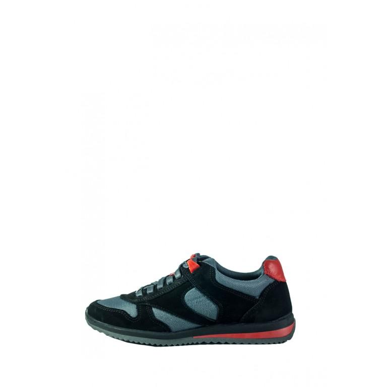 Кроссовки подростковые MIDA 31281-9-6 черно-серые