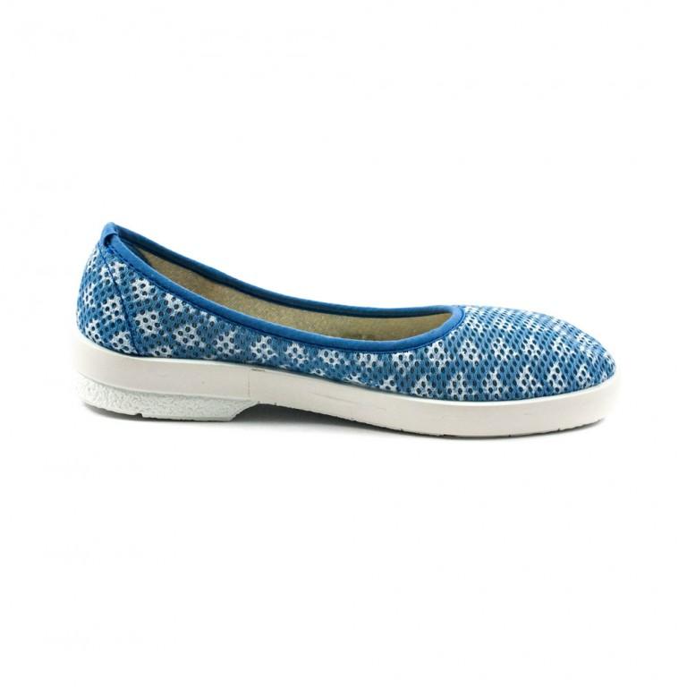 Балетки женские Dino Vittorio B11S синий